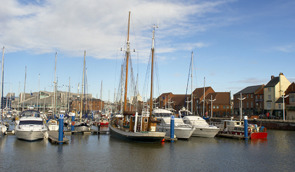 Yachts is Hull Marina