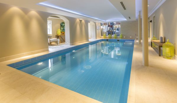 Swimming pool at Binswood.