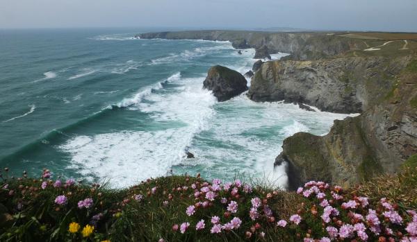 Rugged Cornish coastline