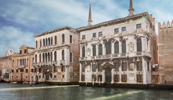 Property on the canals in Venice.