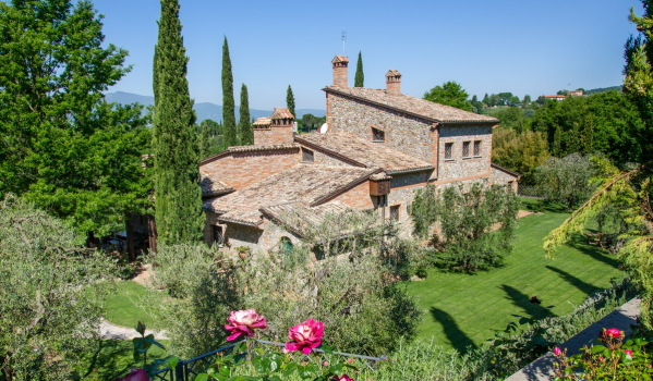 Traditional property in Umbria, Italy.