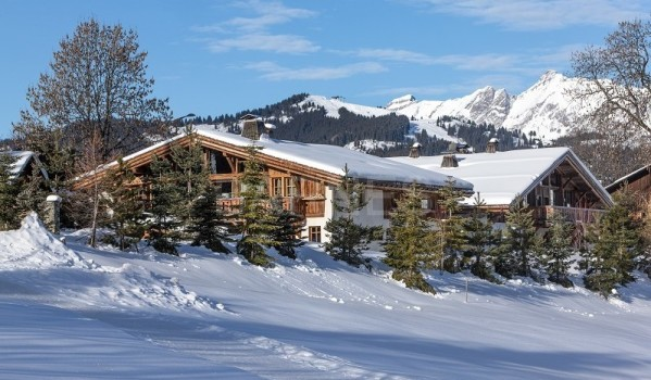 Chalet for sale in France.
