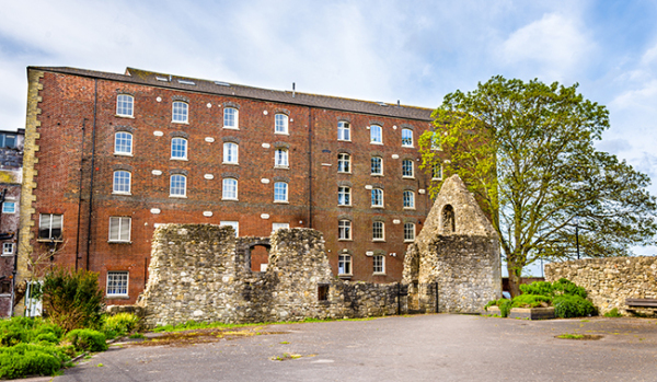 Ruins in Southampton
