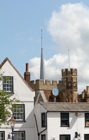 St Marys Church, Hitchin, Hertfordshire, England