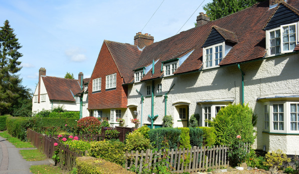Arts and crafts houses in Letchworth Garden City