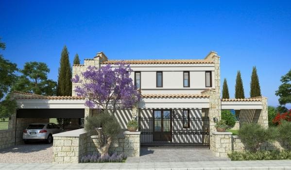 A clean, modern home in Paphos.