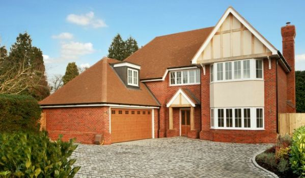 Newly-built detached house in Farnham Common