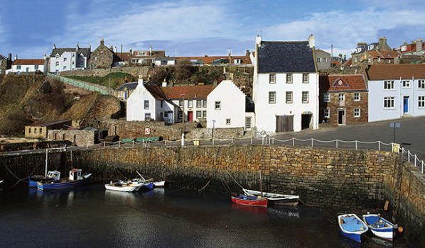 Harbour at the Village of Crail, Fife