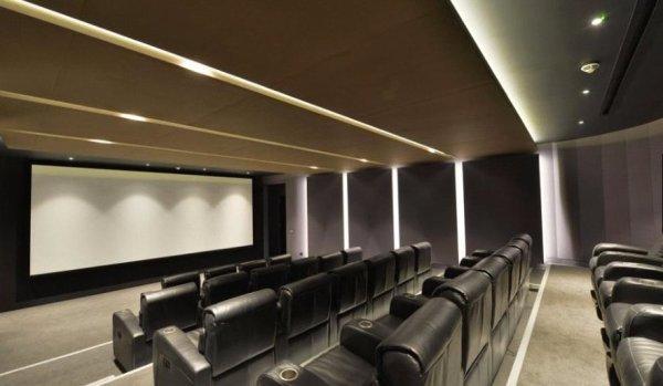 Cinema at Meranti House, Goodman's Fields.