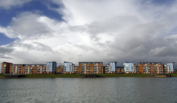 Dockland Apartment Buildings in Lllanelli