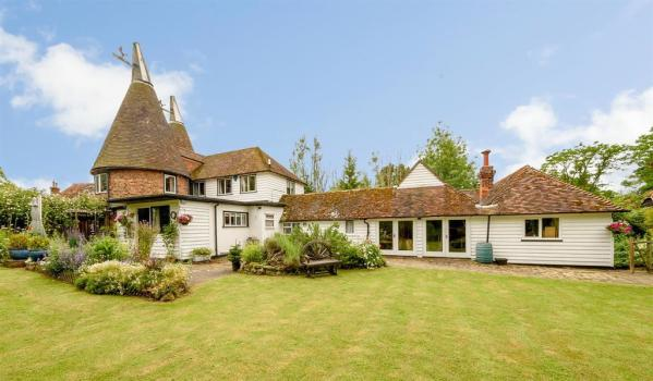 A traditional Oast house in Kent