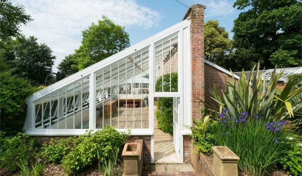 Victorian greenhouse in Kent converted into a two-bedroom home