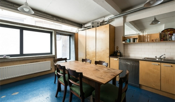 Hatton Garden jewellery workshop converted into a home