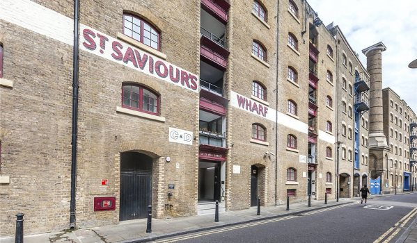 St Saviour's Wharf warehouse converted into flats