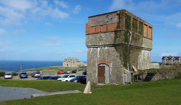 A water tower on Cape Cornwall headland ripe for conversion