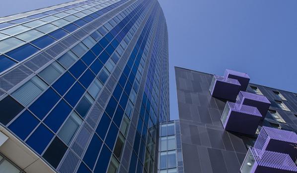 Luxury buildings in Stratford