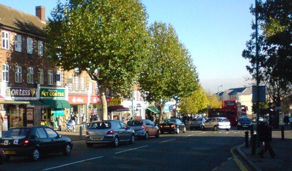 The Broadway in Greenford