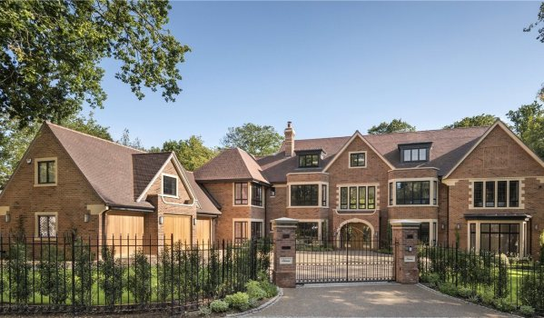 A newly-built mansion in Beaconsfield