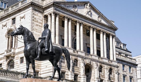 The Bank of England on Threadneedle Street