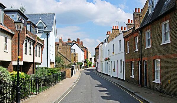 Church Street in Isleworth