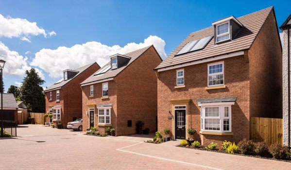 New-build homes in Wolverhampton