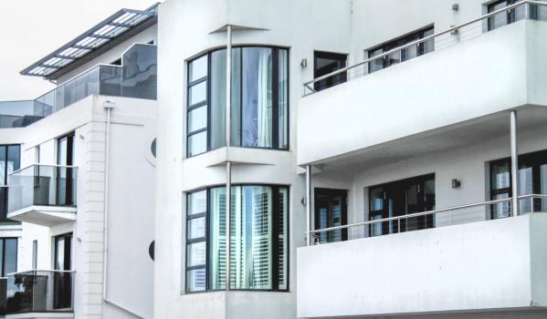 Art Deco building in Jersey