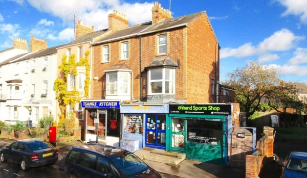 Home for sale on Iffley Road, Oxford.