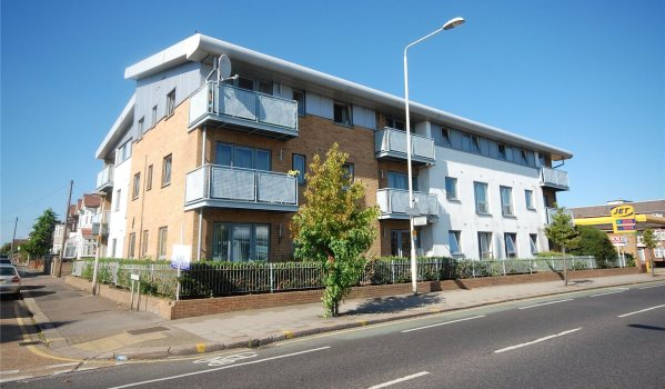 Modern block if flats in Chadwell Heath