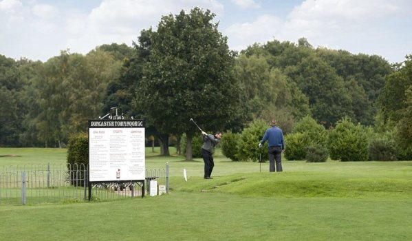 People playing golf at Doncaster Town Moor Golf Club
