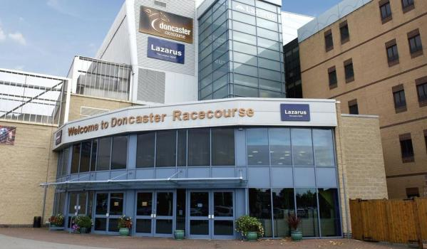 Entrance to Doncaster Racecourse