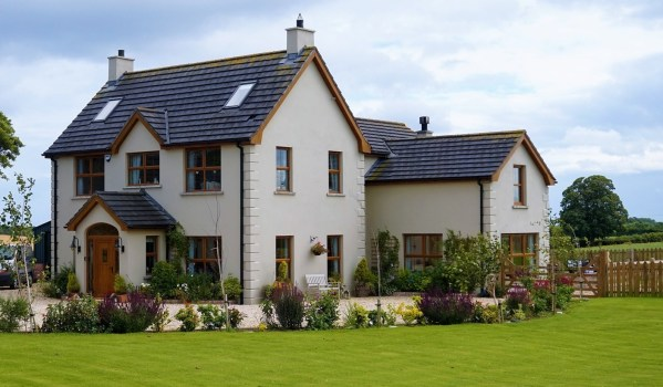 Newly-renovated six-bedroom house in Donaghadee