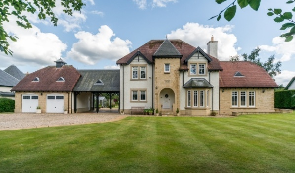 A detached four-bedroom family house in Kirknewton