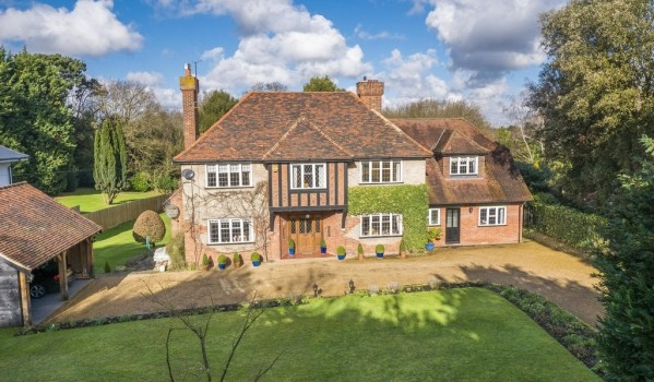 A 1930's Tudor style detached house in Ipswich