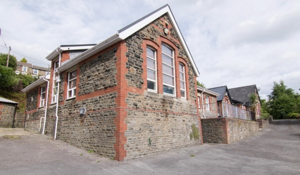 School converted into a family home in Wales