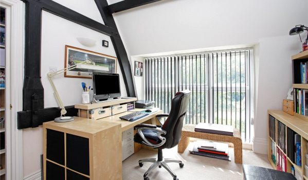 Office in a converted Victorian school house