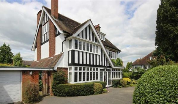 Family home for sale in Harpenden.