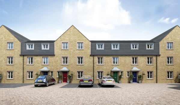Modern homes in Stamford.