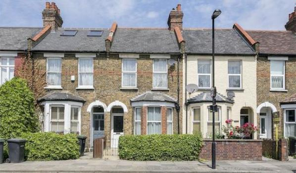 Terraced house in North London