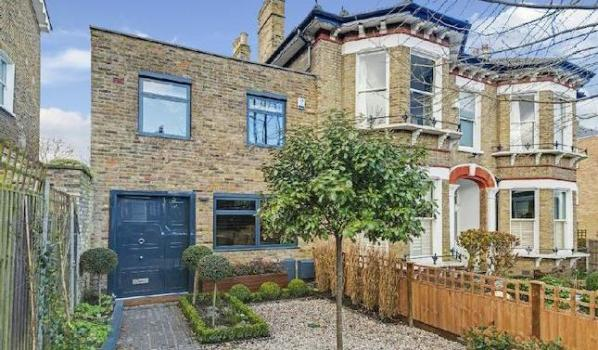 End of terrace house in north London