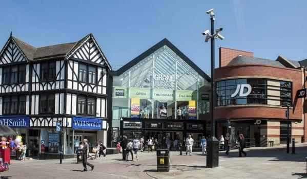The Grand Arcade shopping centre in Wigan