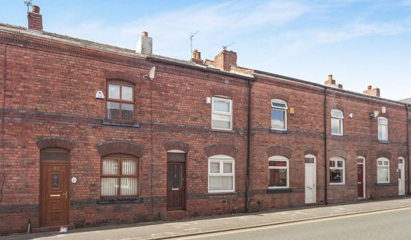 Terraced house in Wigan