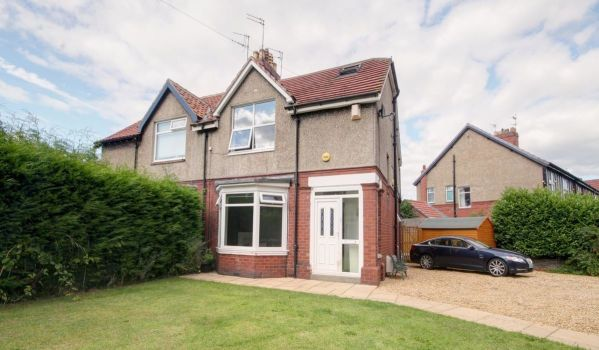 Semi-detached house in Chester-le-street