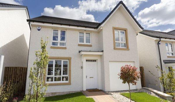New build home in Kilmarnock