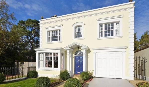 Mansion on Camlet Way.