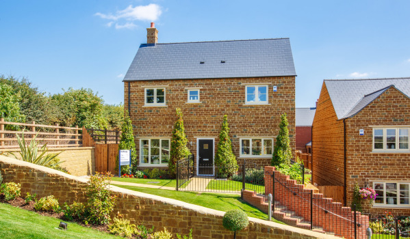New-build house in Banbury