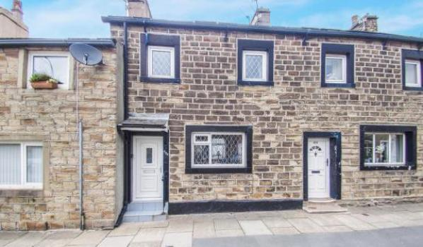 House for sale in Burnley.