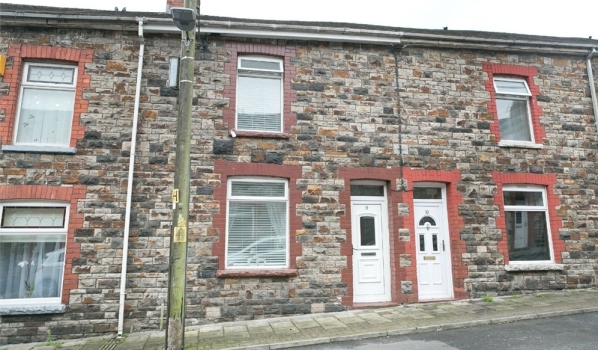 House for sale in Merthyr Tydfil.