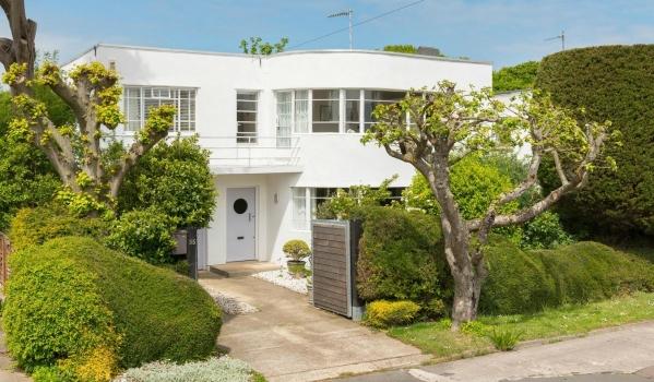 Art Deco house in Frinton-On-Sea