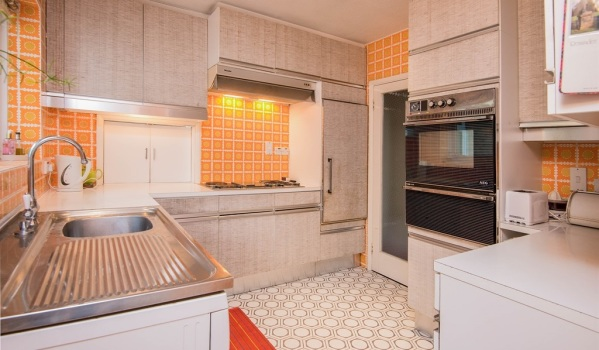 1970s kitchen in Bexhill-On-Sea