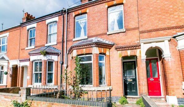 Terraced house for sale in Milton Keynes.